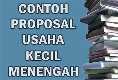 contoh proposal usaha kecil toko batik contoh proposal usaha kecil menengah