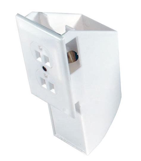 Wall Power Outlet Home Security Storage Box wall socket safe outlet hiding spot