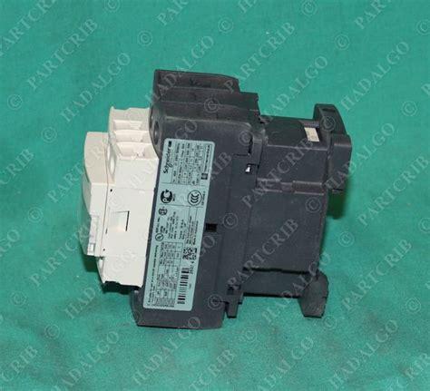 schneider lc1d25g7 lc1d25 contactor relay starter 120v
