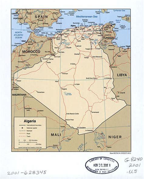 algeria   crossroads borders  security  north africa