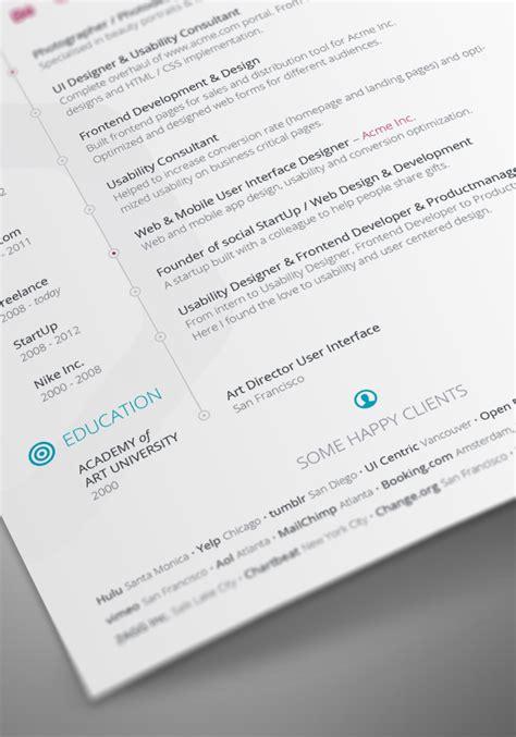 5 cv resume indesign templates free vita resume cv template for indesign printriver 169