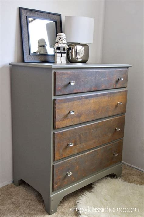 two tone dresser bedroom furniture simply klassic home two toned painted stained dresser