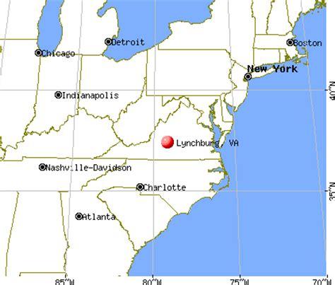 map of lynchburg virginia lynchburg va lyh city of lynchburg virginia