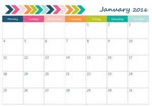 horizontal calendar template free 2016 printable calendar horizontal calendar