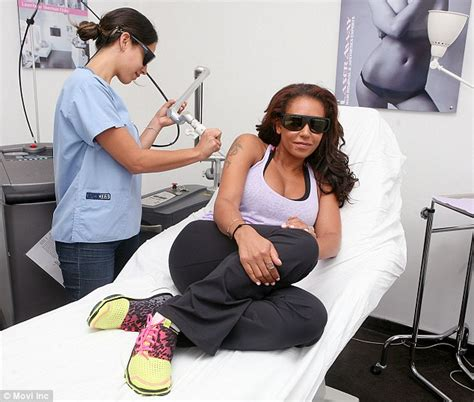 mel b tattoo mel b undergoes laser surgery as she gets arm tattoos