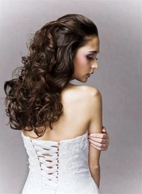 Curly Wedding Hairstyles by Curly Hairstyles Vol 01 A Crown Made Of