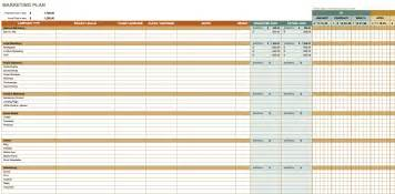 exle marketing plan template free marketing plan templates for excel smartsheet