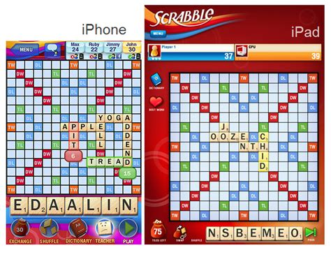 scrabble ae iphone vs 20 side by side photos cnet