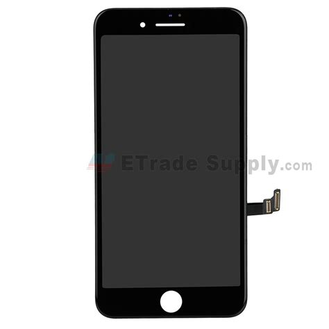 apple iphone 8 plus lcd screen and digitizer assembly with frame black grade r etrade supply