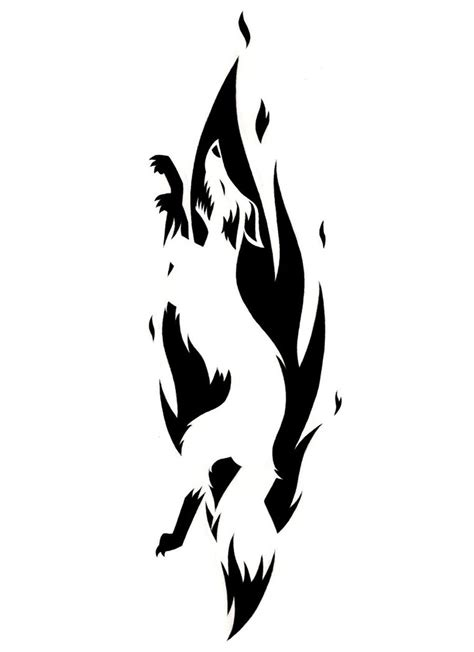 tattoo pictures black and white fox tattoo black and white by 321liqourice123 on deviantart