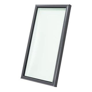 shop velux fcm        tempered fixed