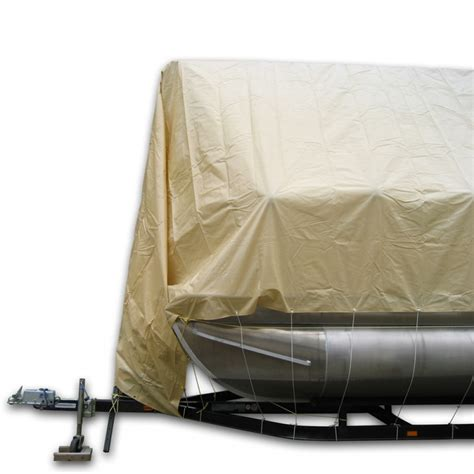 pontoon boat tarp covers cover for pontoon 27 28 ft with tarp 19x39