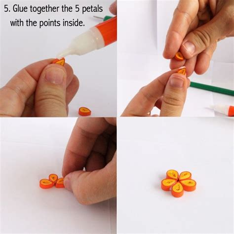 How To Make Easy Paper Earrings At Home - how to make paper quilled earring guest post