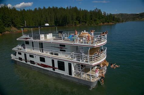 shasta lake house boat 65 titan houseboat