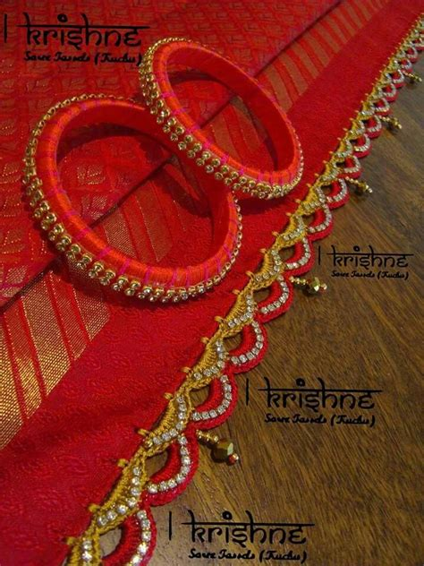 geeta pattern works rajkot 17 best images about silk thread jwls on pinterest app
