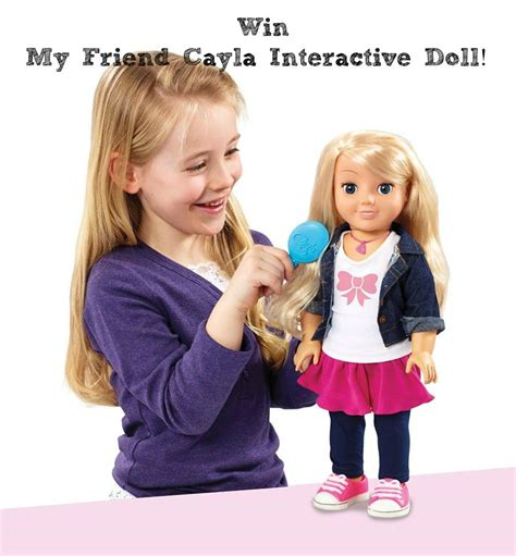 my friend cayla interactive doll my friend cayla interactive doll review and giveaway