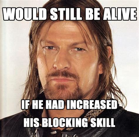Boromir Memes - crossover fantasy memes doc and intrepid s blog