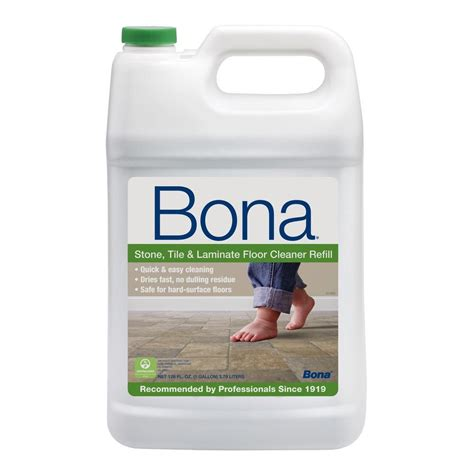 bona 128 oz stone tile and laminate cleaner wm700018172 the home depot