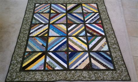 string quilt with inner sashing