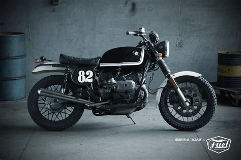 bmw motorcycle cafe racer cafe racer special bmw r100 quot scram quot by fuel