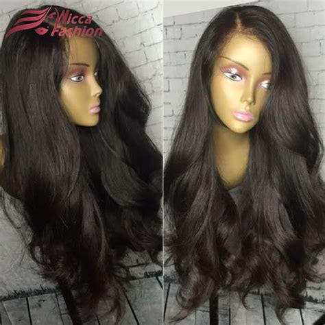 picturesof some good womens wigs for women over 60 aliexpress com buy top 8a thick hair natural wave
