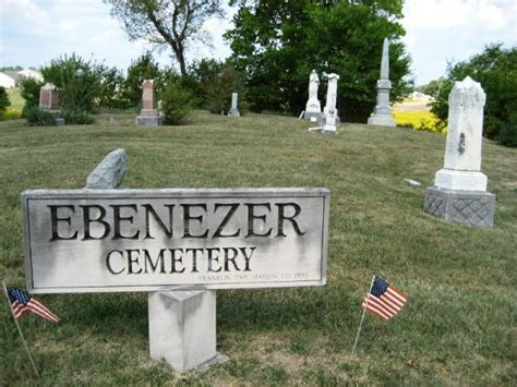 Indianapolis Marion County Records Ebenezer Cemetery Marion County Indiana