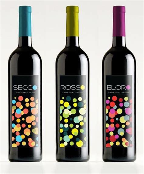 rosso bottle italian wines secco rosso eloro by elo designs