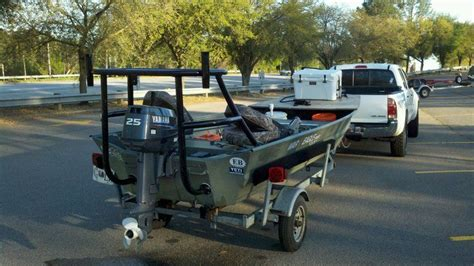 fishing boat with casting deck for sale charlestonfishing pictures of poling platform on jon