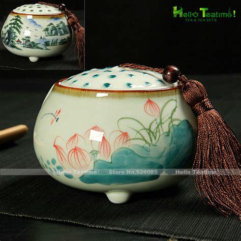 Handmade Jars - ht 500ml handmade porcelain tea jar china ceramic