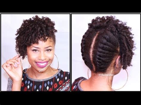 natural hair pinned up twisted natural black hair
