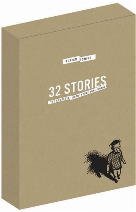 32 stories special edition 1897299761 32 stories special edition box set 32 stories strip by adrian tomine from series quot 32 stories