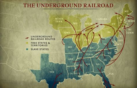 underground railroad map looming large in anti slavery lore moment of indiana history indiana media