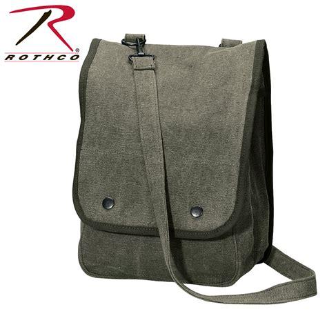 vintage us canvas map shoulder bag rothco vintage canvas map shoulder bag