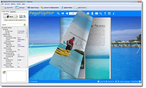 book layout and design software can i re design published flip book