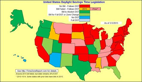 map of us time zones during daylight savings daylight saving time starts sunday in the us get more