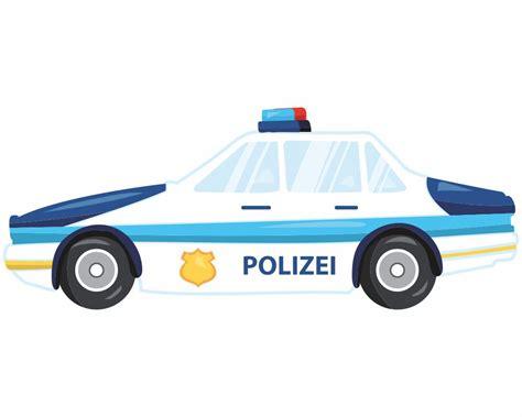 kinderzimmer deko polizei wandtattoo polizeiwagen als kinderzimmer deko kiddikiste