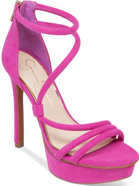 Original Sandal Wedges Laser Ls04 Pink pink suede heeled sandals asymmetrical platform dress sandals where