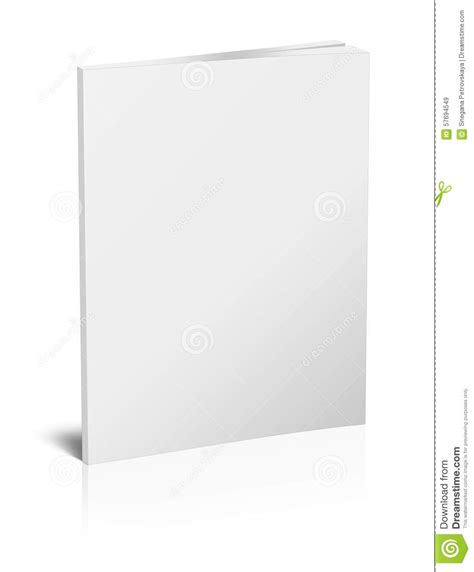 Book Cover Template Illustrator by Blank Vertical Book Template Stock Illustration