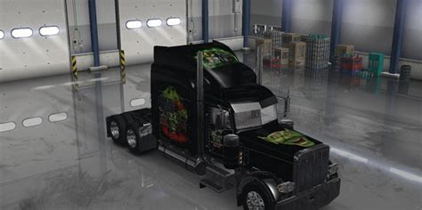 maximum truck peterbilt 389 maximum overdrive skin mod truck