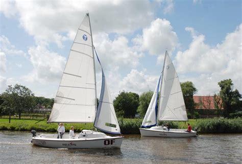 open zeilboot huren veerse meer open zeilboten zwemer watersport kerland bootverhuur nl