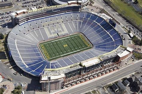 michigan state football stadium seating capacity ten largest multi purpose stadiums page 2 of 2