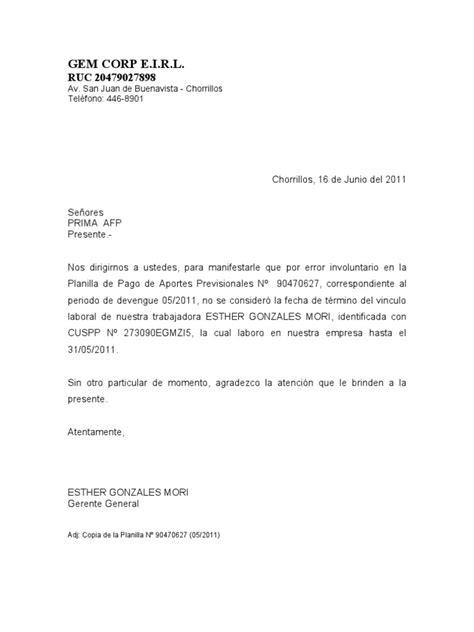 bcp planilla formato cts bcp 2016 carta a afp dando de baja a trabajador
