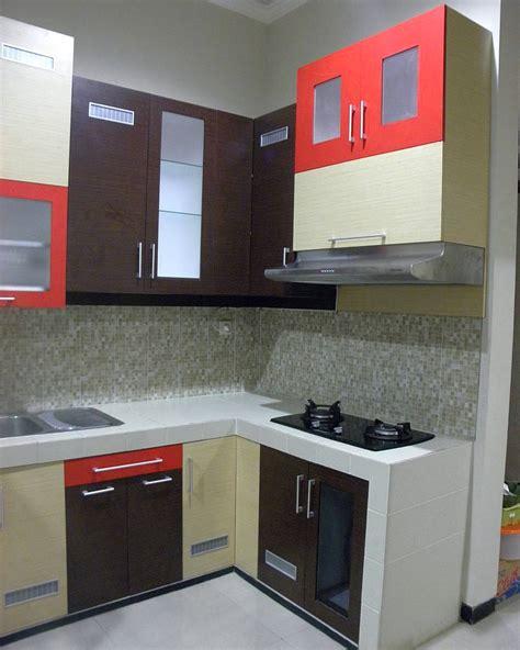 desain dapur harga gambar harga kitchen set sederhana dan desain kitchen set
