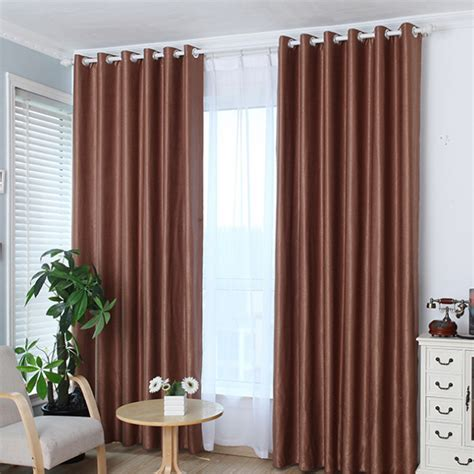window curtains for sale hot sale upscale jacquard yarn curtains solid grommet