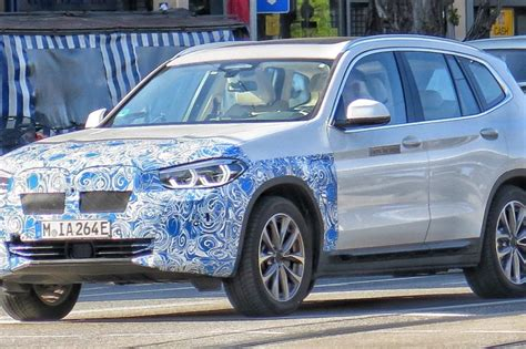 bmw ix electric suv spotted  munich