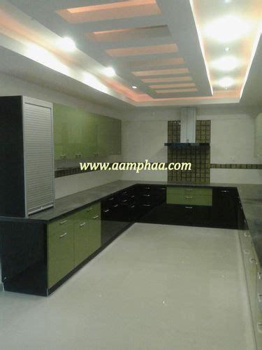 interior decor modern kitchen  ceiling