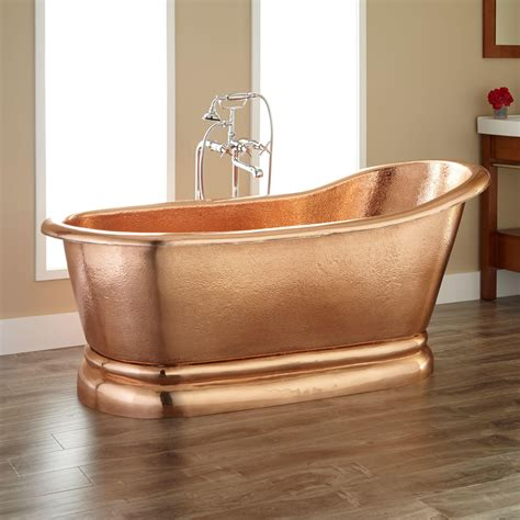 1800 Shower Bath copper bathtubs turning your bathroom into an antique