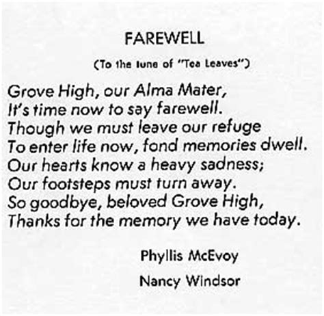 Quotes For Seniors Farewell