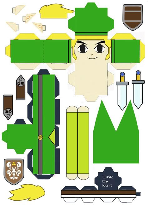 Papercraft Legend Of - legend of papercraft craft ideas