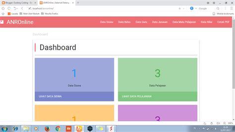 membuat web nilai online download source code aplikasi nilai raport online berbasis